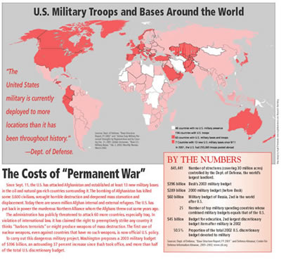 Afghanistan Looking For Trouble Analysis And Opinion On The - Map of us naval bases globally