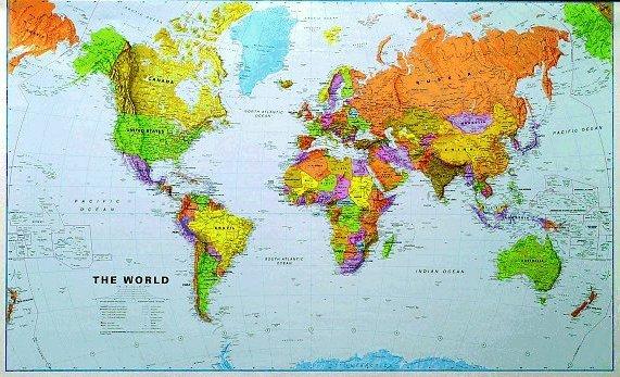 buy world map hrant